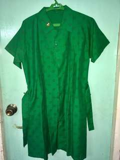 GIRL SCOUT UNIFORM WITH PIN