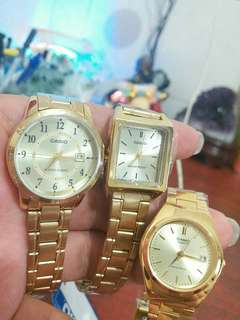 CASIO AUTHENIC 3PCS FOR $120