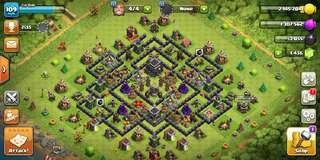 Clash Of Clan Base