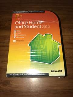 Legit! - MS Office Home and Student 2010 - Licensed Original