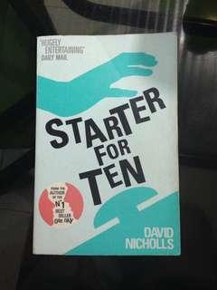 David Nicholls - Starter for Ten