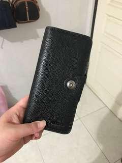 Dompet panjang kulit unisex