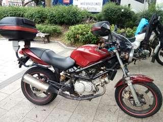HONDA VTR250 2002