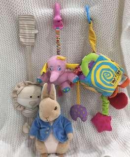 Baby toys x4