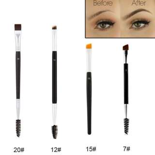 1pc Beauty Dual Sided Eyebrow Brush and Comb Kit
