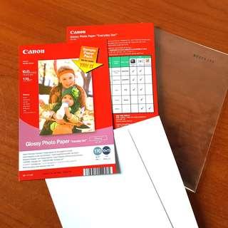 CANON 10x15cm glossy photo paper