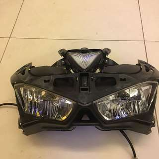 R25 coverset headlamp