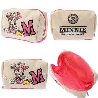 日本迪士尼代購 Minnie 米妮 pouch 化妝袋