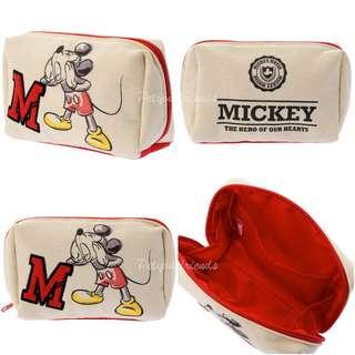 日本迪士尼代購 Mickey 米奇 pouch 化妝袋