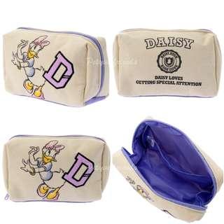 日本迪士尼代購 Daisy 黛絲 pouch 化妝袋