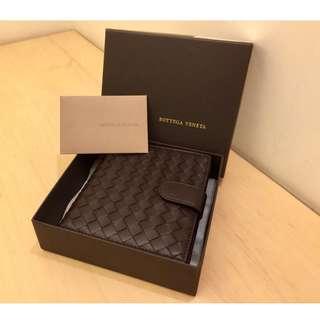 🚚 限時特價❤️BV Bottega Veneta 經典羊皮編織短夾 皮包 錢包
