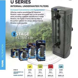 Fluval internal U Series filter