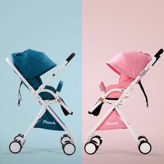 2018 Pouch new baby stroller high view 5.7kg umbrella baby car folding carry on air plane directly