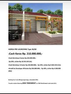 Jual Property BARAZAKI GREEN VIEW