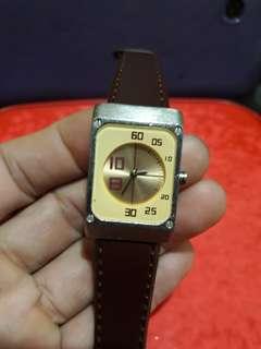 Deep     her watch