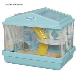 🚚 日本IRIS鼠籠HCK411—僅售內裝道具:外出籠(房屋)、滾輪、二樓層板、軌道管件、餵食器、飲水器