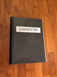 O/N level Compiled Chemistry Notes