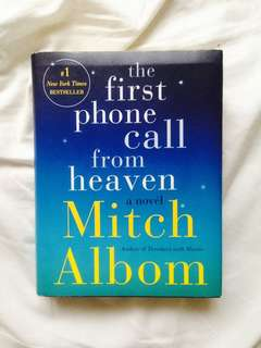 The First Phone Call from Heaven Mitch Albom Signed Copy