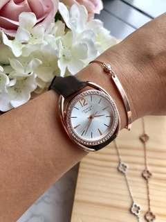 代購美國卡斯麗 CRISELLA 腕錶手鐲套裝