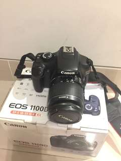Canon 1100D + Kit Second Hand