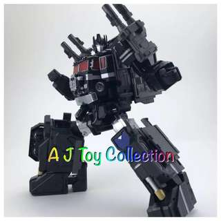 [ Preorder ] Transformers Fans Hobby MB 06A Black Power Baser