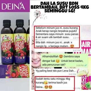 Authentic Deina Smax Fruit Juice