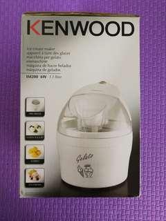 KENWOOD ICE CREAM MAKER IM200 1.1 LITRE