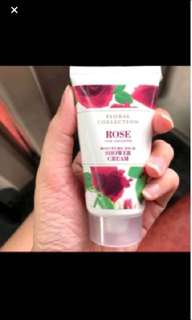 Mark & spencer rose shower cream 50ml