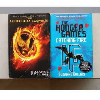 The Hunger Games & Catching Fire by Suzanne Collins