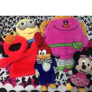 Assorted Stuffed Toys Take All for 200