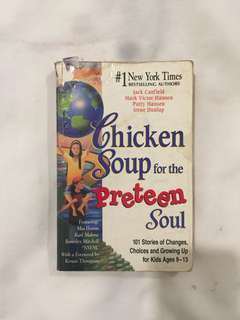 Chicken soup for the preteens soul