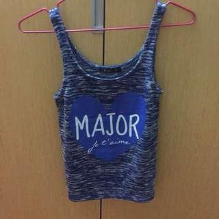 🚚 Major made 背心