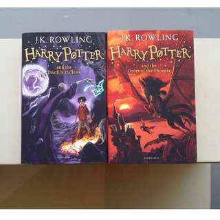 Harry Potter books by J.K.Rowling