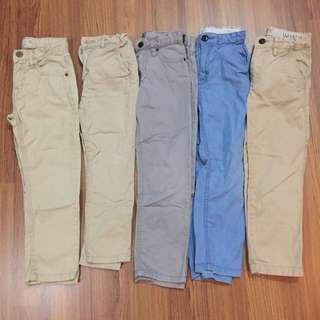 ZARA & RALPH LAUREN BOYS Pants 4-5 Years