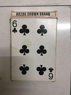 Big size playing card