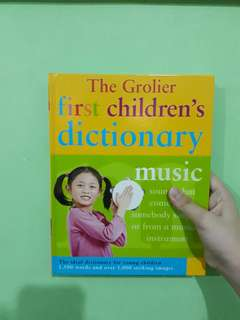 The Grolier First Children, s Dictionary