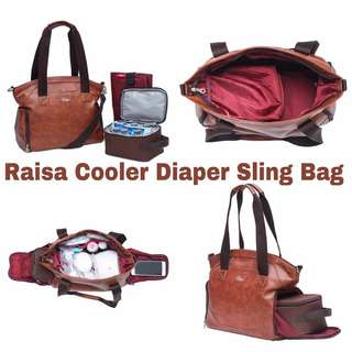 Sling Cooler Diaper Bag