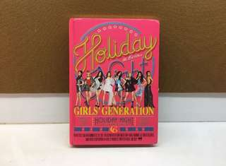 SNSD HOLIDAY NIGHT ALBUM - HOLIDAY VERS