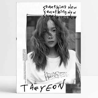 TAEYEON 3rd Mini Album SOMETHING NEW