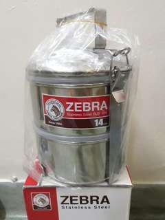 Zebra 14cm food container