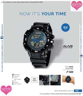 Alive French Design Watch