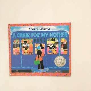 A Chair For My Mother Paperback Book by Vera B. Williams