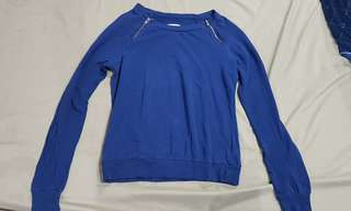 Forever 21 Blue Long Sleeves