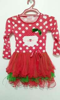 Santa Clause costume for girls