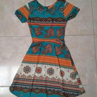 Dress Batik Katun