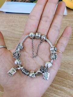 PANDORA Authentic Charm , Clips , Dangles , Safely chain #Ramadan50