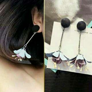 Anting bunga tasel korea