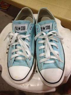 REPRICED! CONVERSE MINT BLUE