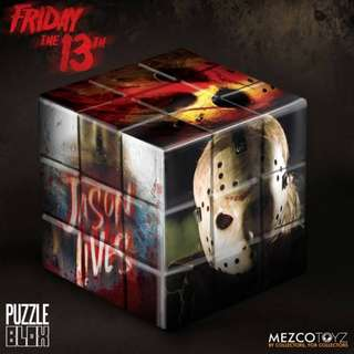 PRE-ORDER : Mezco Puzzle Blox - Jason Voorhees from Friday The 13th (2009)