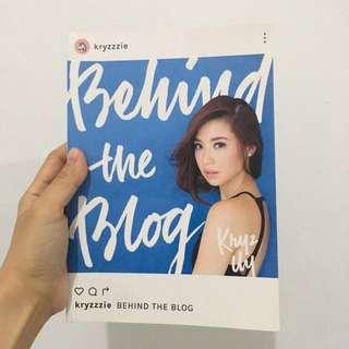 Behind the Blog Book by Kryz Uy